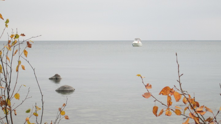 Early Fall on Lake Huron