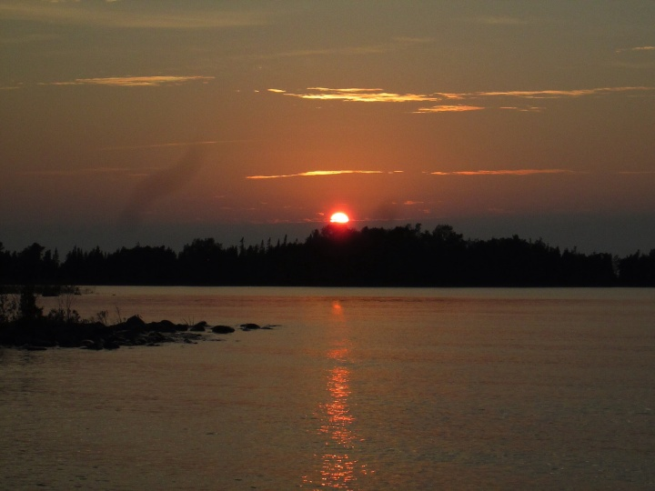 Sunset at MacGregor Point